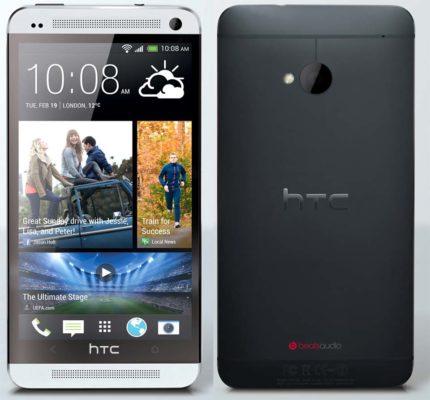HTC One - fås i sort og hvid
