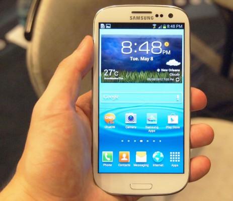 Samsung Galaxy S3 4G display/skærm