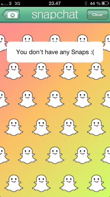 SnapChat Clear