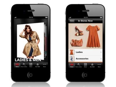 H&M Shopping på din mobil