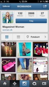 Følg kendte magasiner på Instagram