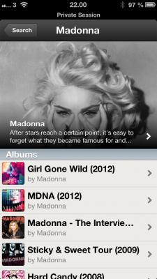 Spotify kunstnerbiografi