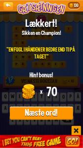 Vind 70 mønter
