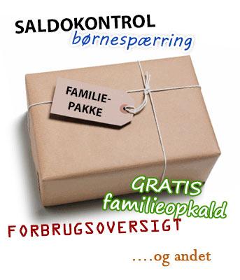 Mobilabonnement til familien - familiepakke
